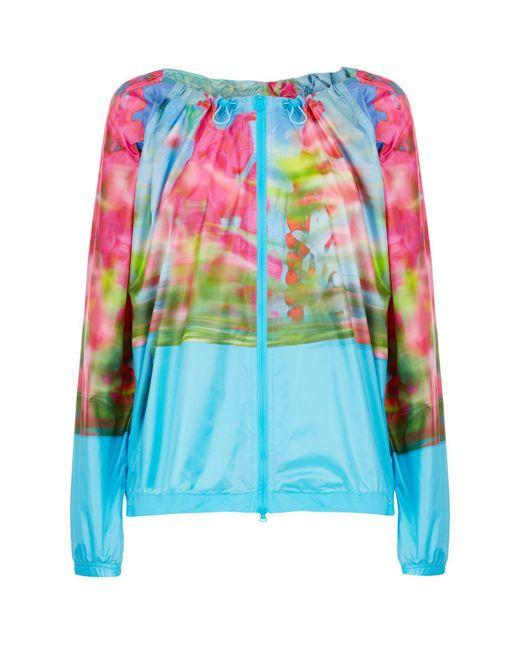 Adidas By Stella McCartney - Blue Adizero Drawstring Jacket - Lyst