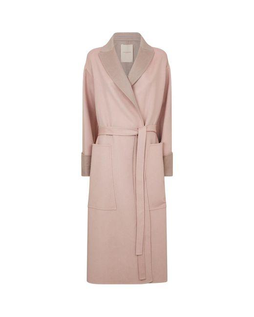 Roksanda - Pink Marley Oversized Coat - Lyst
