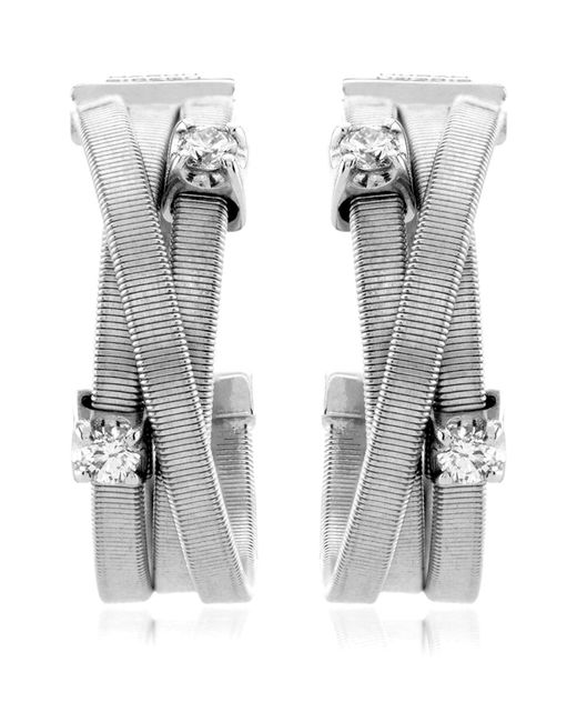 Marco Bicego | White Goa Strand Diamond Earrings | Lyst