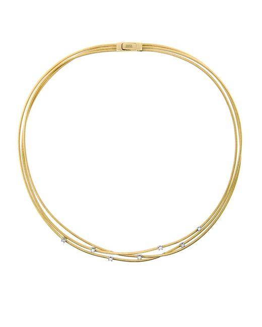 Marco Bicego | Yellow Goa Strand Diamond Necklace | Lyst