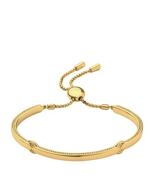 Links of London   Metallic Narrative Yellow Gold Bracelet   Lyst