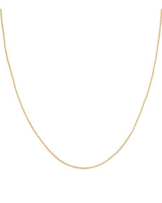 Monica Vinader | Metallic Adjustable Rolo Chain (32) | Lyst