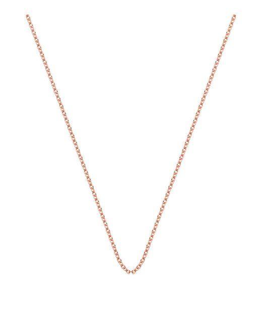 Monica Vinader | Pink Adjustable Rolo Chain (32) | Lyst