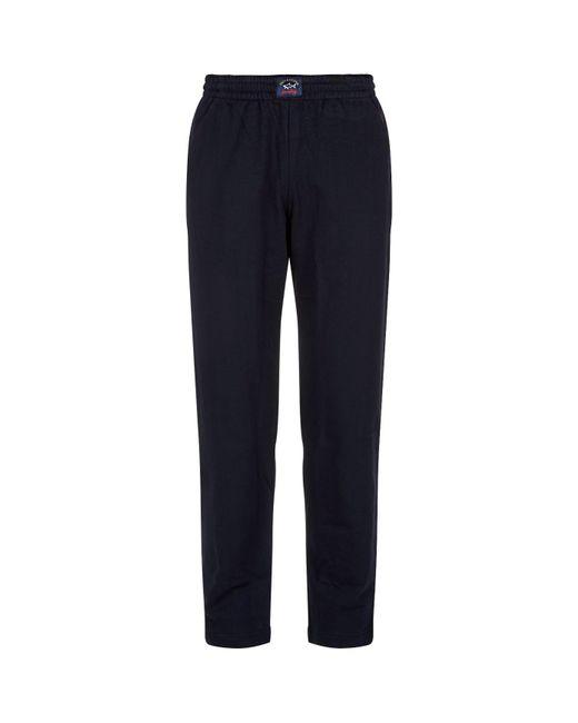 Paul & Shark | Blue Straight Leg Sweatpants for Men | Lyst