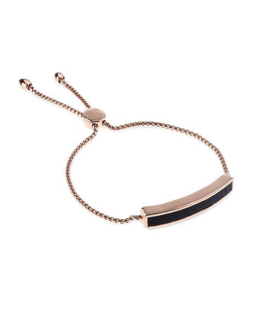 Monica Vinader - Black Baja Chain Bracelet - Lyst
