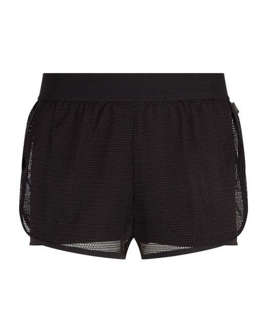 Reebok - Black 2-in-1 Mesh Shorts - Lyst