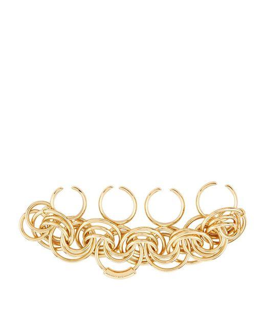 Chloé - Metallic Multi-finger Ring - Lyst
