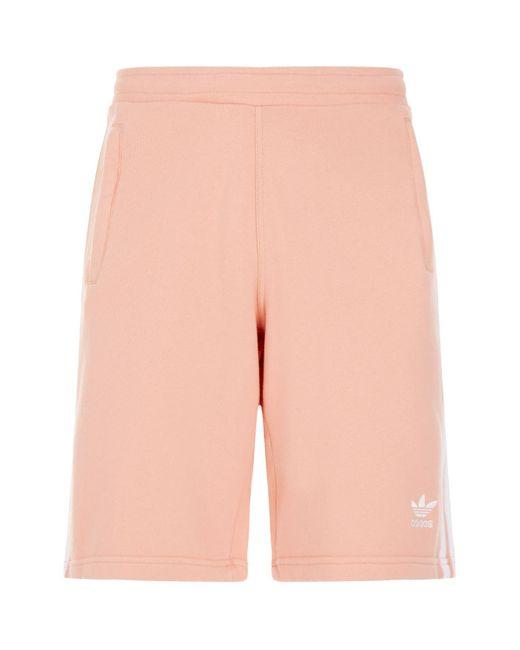 Adidas Originals - Pink 3-stripes Shorts for Men - Lyst