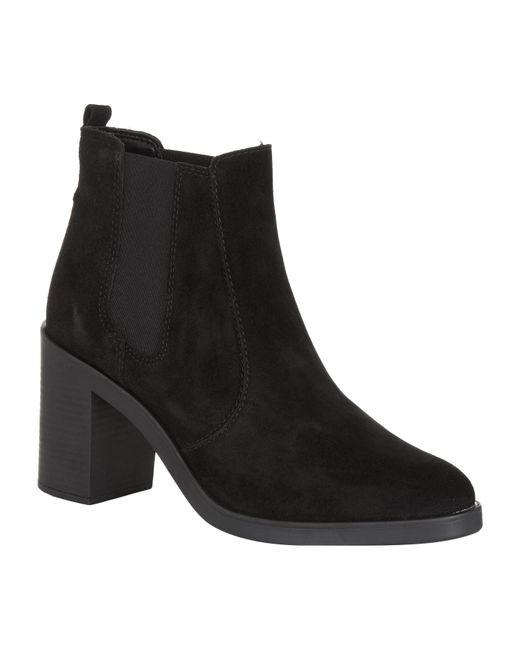KG by Kurt Geiger | Black Sicily Suede Ankle Boot | Lyst