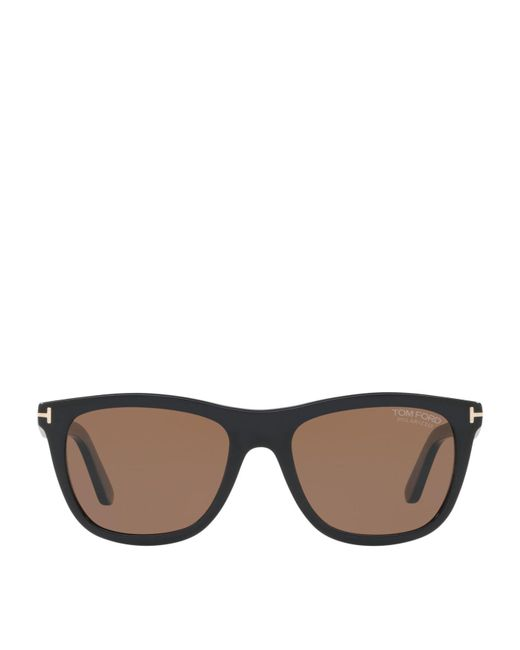 09ff3d3773 Lyst - Tom Ford Andrew Square Sunglasses in Black