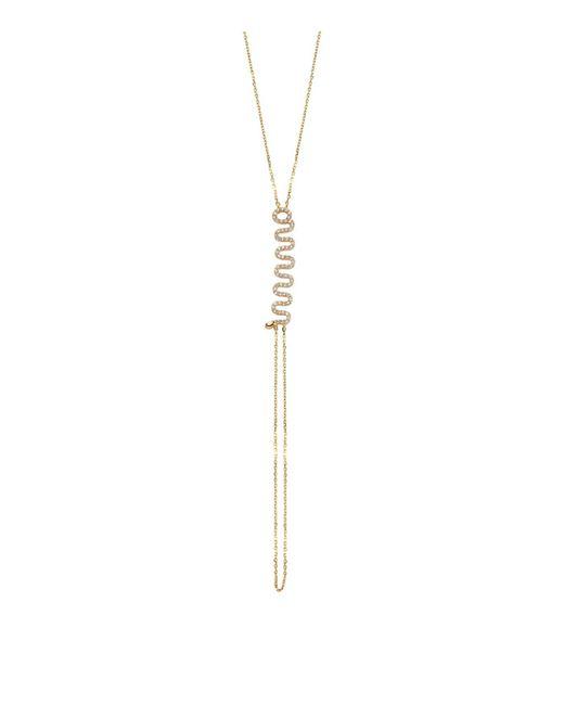 Bee Goddess - Metallic Serpent Hand Bracelet - Lyst