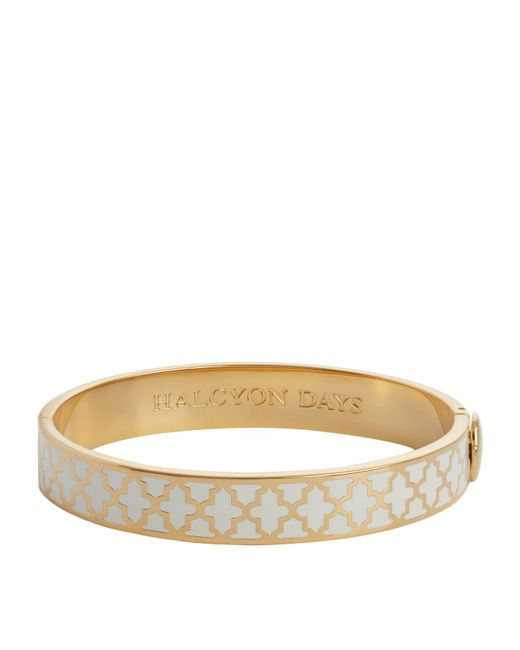 Halcyon Days - Natural Gold Agama Bangle - Lyst