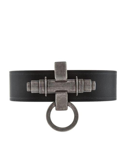 Givenchy   Black Simple Obsedia Bracelet   Lyst