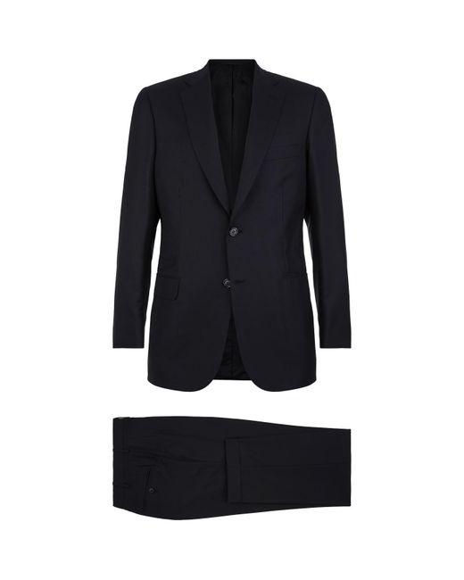 Brioni - Blue Brunico Wool Suit for Men - Lyst