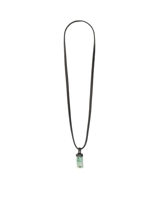 Eskandar - Green Pendant Necklace - Lyst