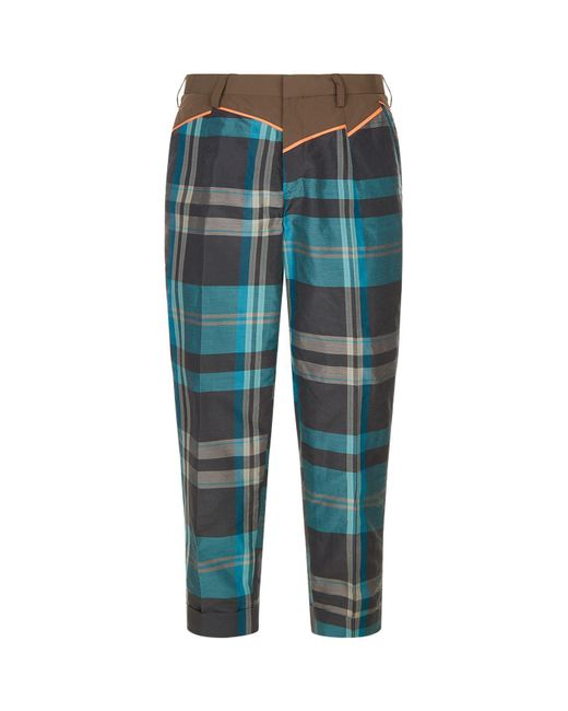 Brand New Unisex Sale Online Great Deals Cheap Online Kolor checked flared trousers Buy Online Cheap Price Inexpensive Clearance Shop Offer 8hQj1DC