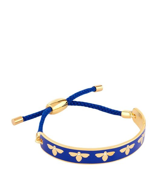 Halcyon Days - Blue Bumble Bee Friendship Bracelet - Lyst