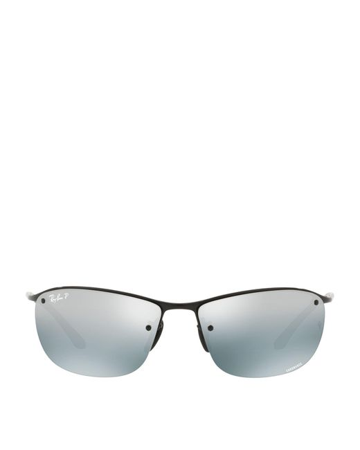f7d6ebc1ae Lyst - Ray-Ban Chromance Sunglasses in Black - Save 21%