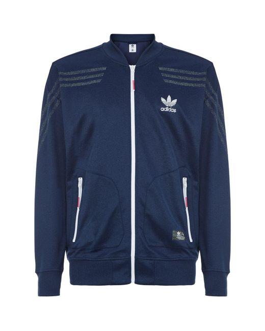 Adidas Originals - Blue Ua & Sons Classic Track Jacket for Men - Lyst