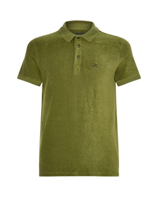 Vilebrequin | Pink Pacific Terry Cotton Polo Shirt for Men | Lyst