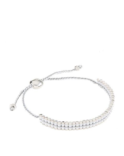 Links of London - White Mini Friendship Bracelet - Lyst