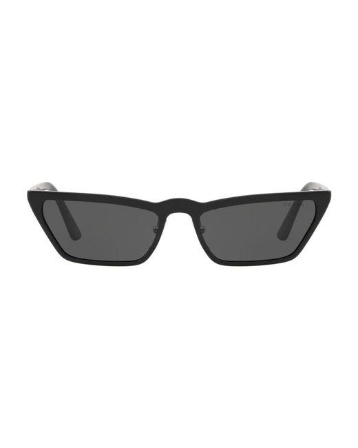 Prada - Black Micro Cat Eye Sunglasses - Lyst