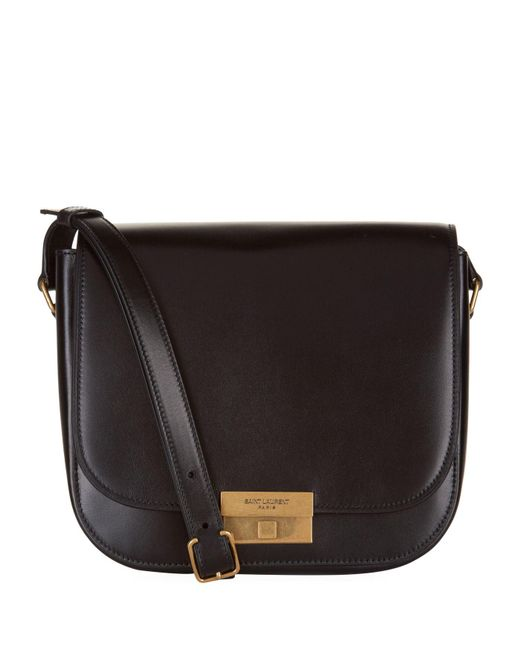 Saint Laurent - Black Leather Betty Satchel - Lyst