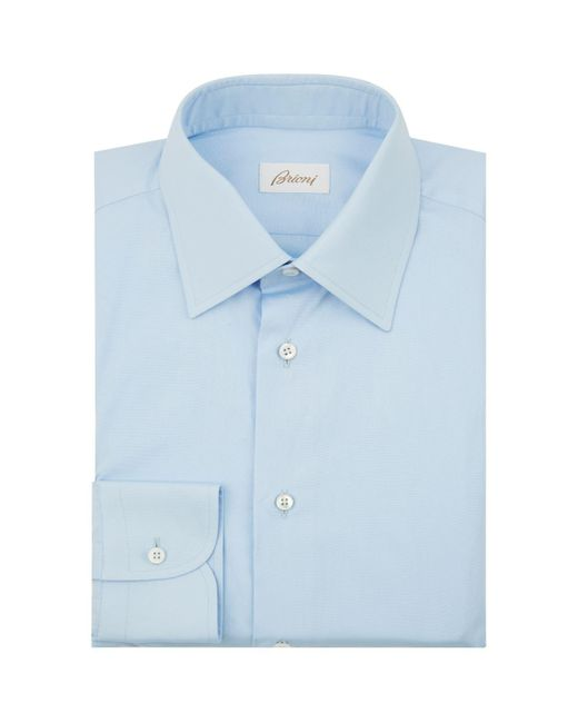 Brioni - Blue Formal Shirt for Men - Lyst