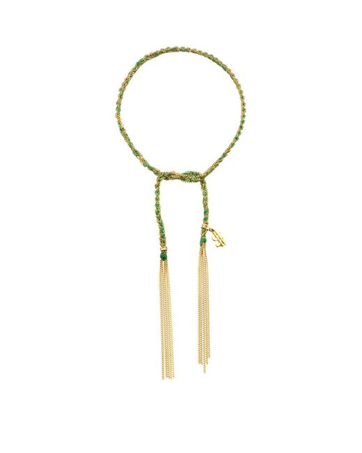 Carolina Bucci - Green Money Charm Lucky Bracelet - Lyst
