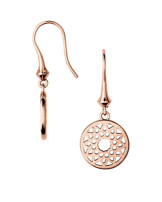 Links of London - Metallic Timeless Small Drop Earrings - Lyst