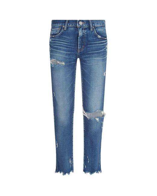 Moussy Blue Ridgewood Skinny Jeans
