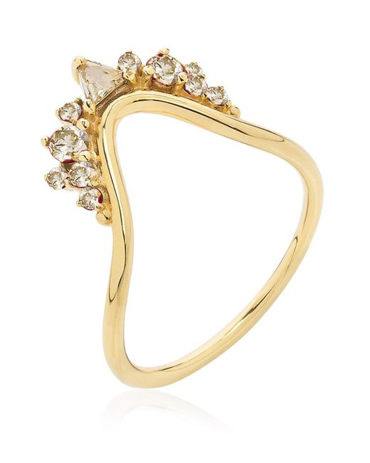 Fernando Jorge | White Fusion Small Wave Ring | Lyst