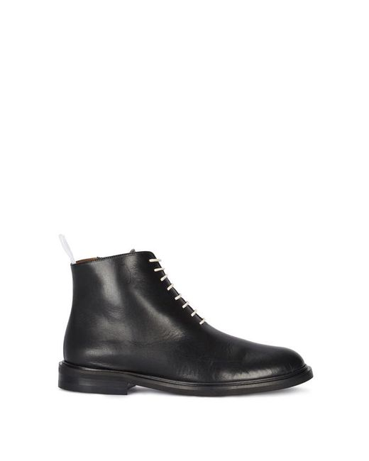 Atp Atelier - Erica Black Leather Ankle Boots - Lyst
