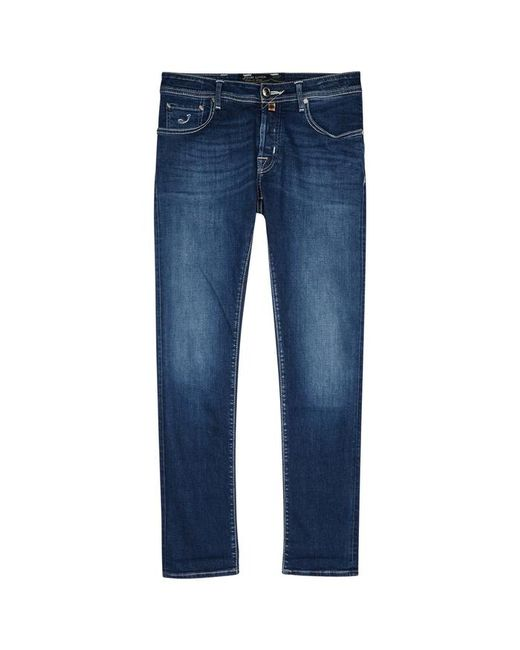 Jacob Cohen - J622 Limited Edition Blue Slim-leg Jeans for Men - Lyst