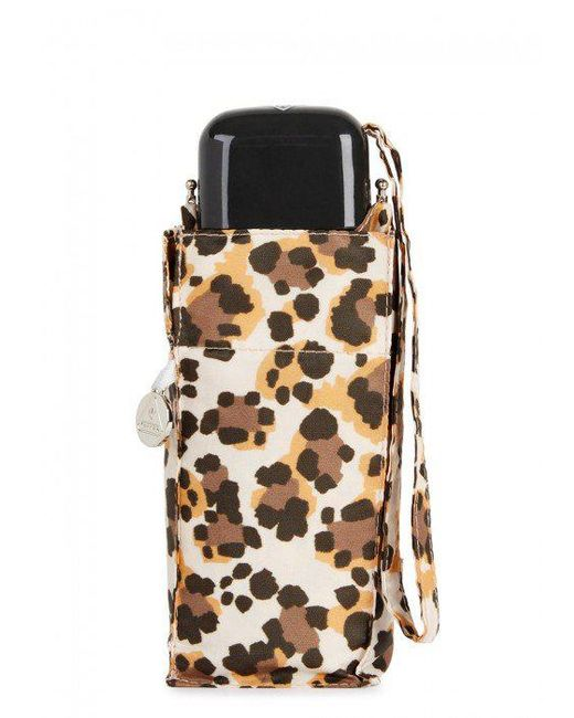 Fulton | Brown Leopard-print Umbrella | Lyst
