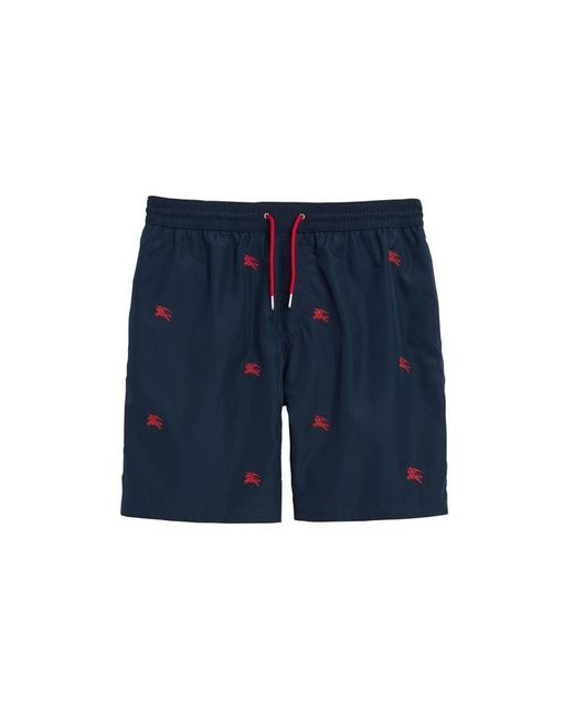 2a75bdf023 Burberry Archive Logo Swim Shorts in Blue for Men - Lyst