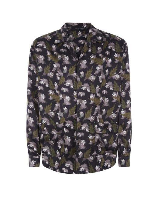 Meng - Multicolor Silk Satin Shirt... for Men - Lyst