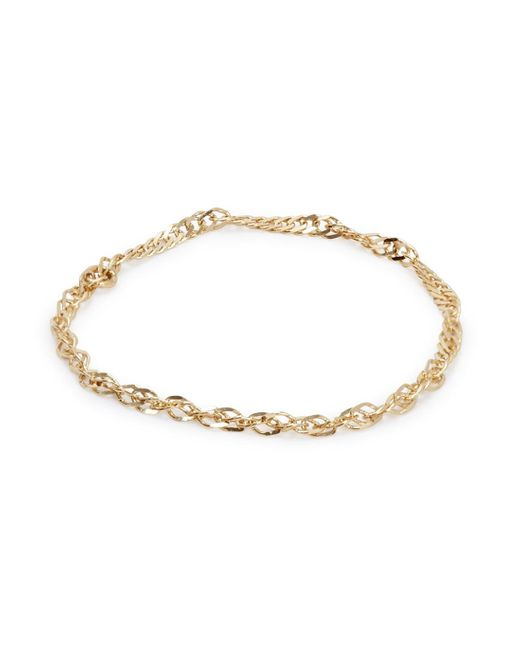 Catbird | Metallic Sweet Nothing 14kt Gold Chain Ring | Lyst