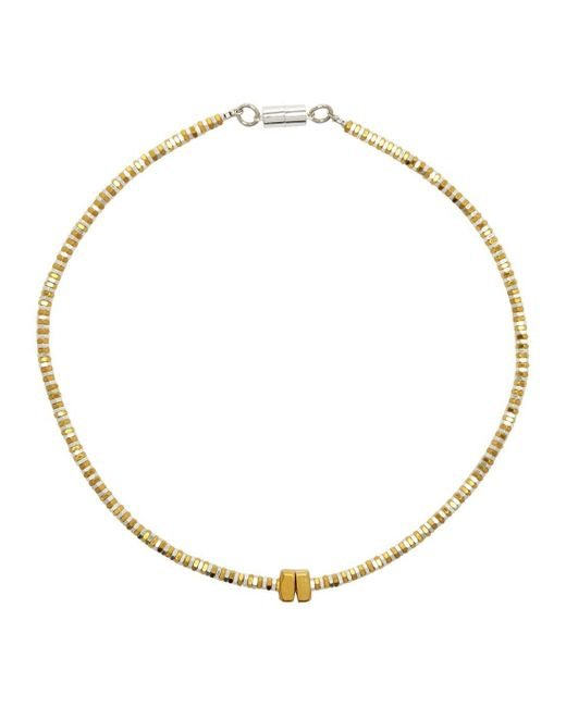 Alice Menter | Metallic Delphi Gold And Silver-plated Necklace | Lyst