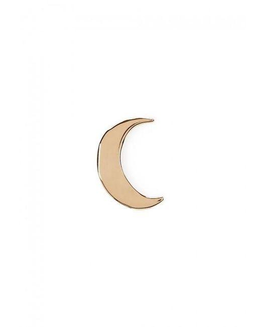 Catbird   Metallic Tiny Dancer Moon Single Stud Earring   Lyst