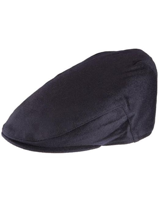 Christys' - Blue Balmoral Cashmere Cap for Men - Lyst