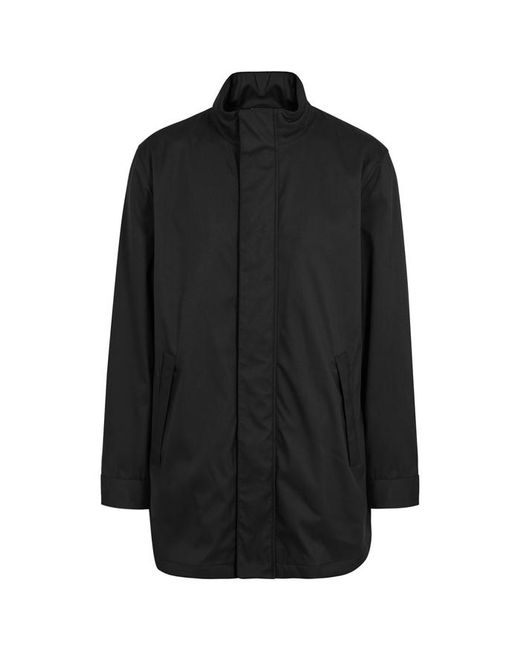 Armani - Black Shell Raincoat - Size 44 for Men - Lyst