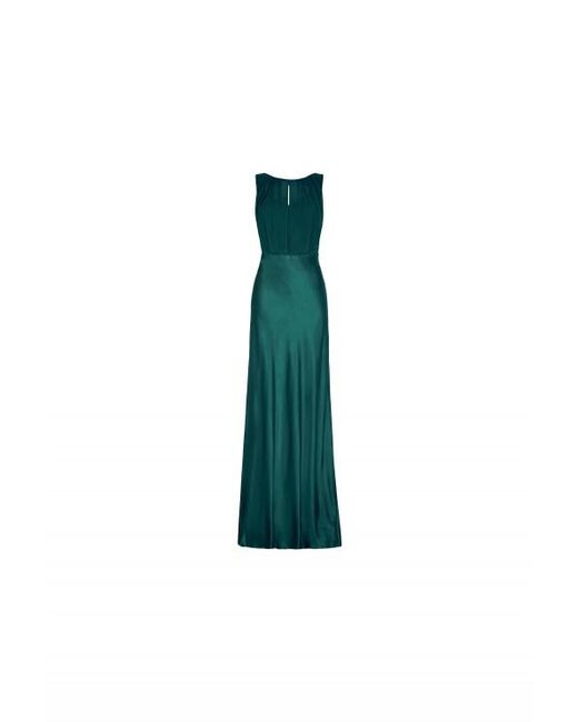 Ghost | Green Claudia Dress Emerald Sea | Lyst