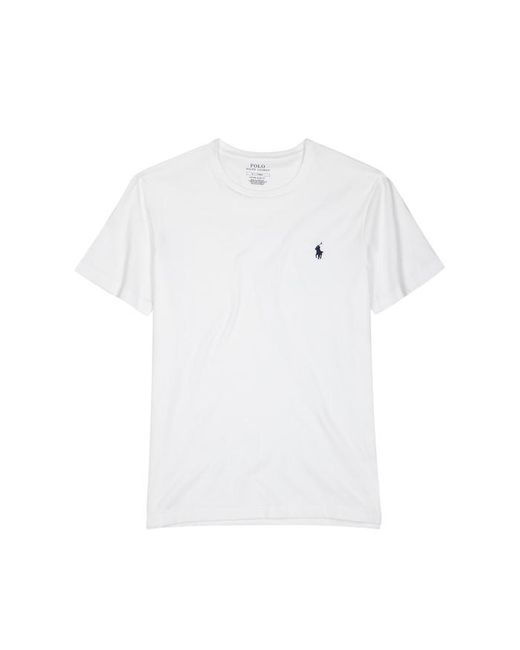 Polo Ralph Lauren - White Cotton T-shirt - Size Xxl for Men - Lyst