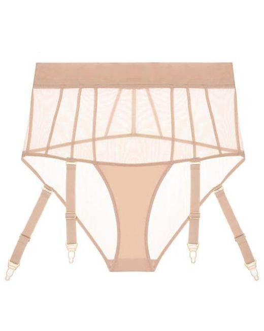 ce14598eafc8c Adina Reay Fran Toast Suspender in Natural - Lyst