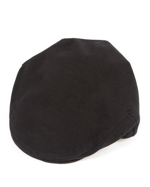 Christys' - Black Balmoral Melton Flat Cap for Men - Lyst
