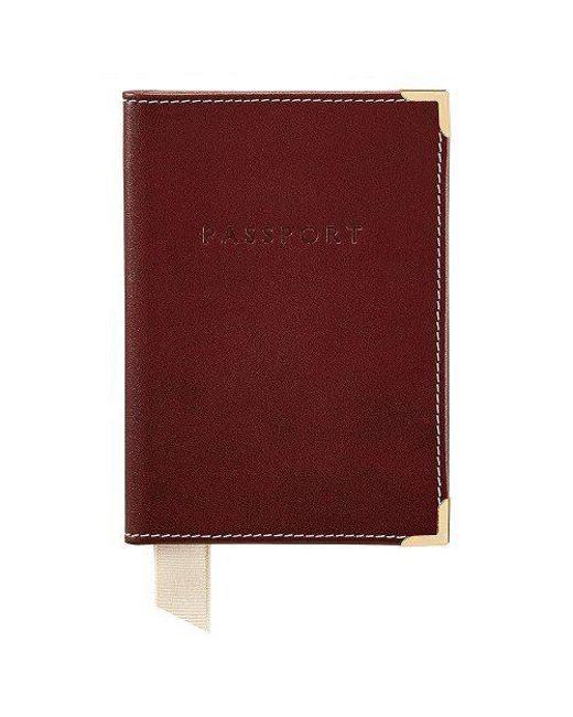 Aspinal | Purple The Passport Cover | Lyst