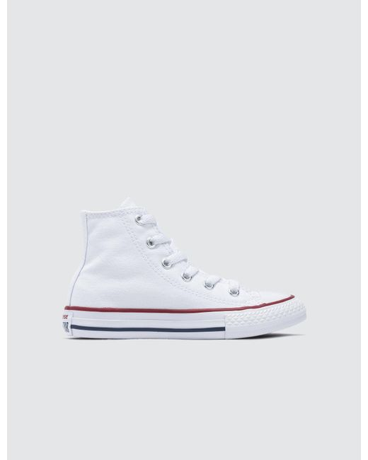 Converse - White Unisex Adults  Chuck Taylor All Star Seasonal Hi-top  Sneakers for ... 766be7662