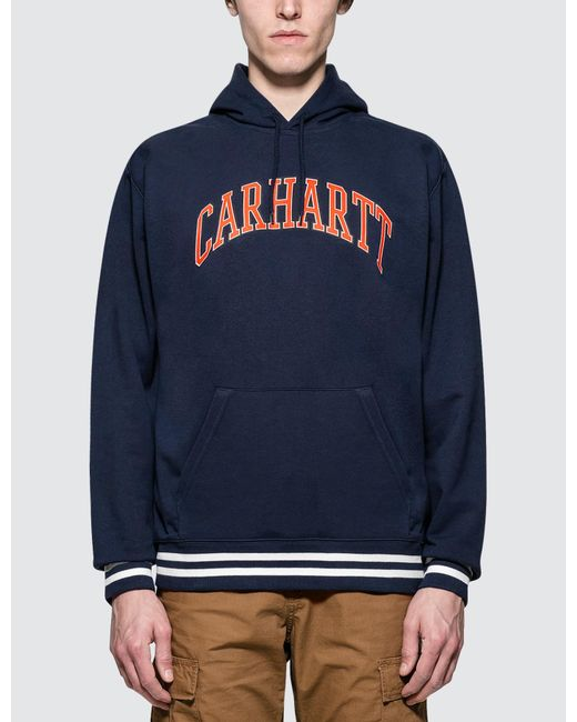 7a2e8165 Carhartt WIP - Blue Knowledge Hoodie for Men - Lyst ...