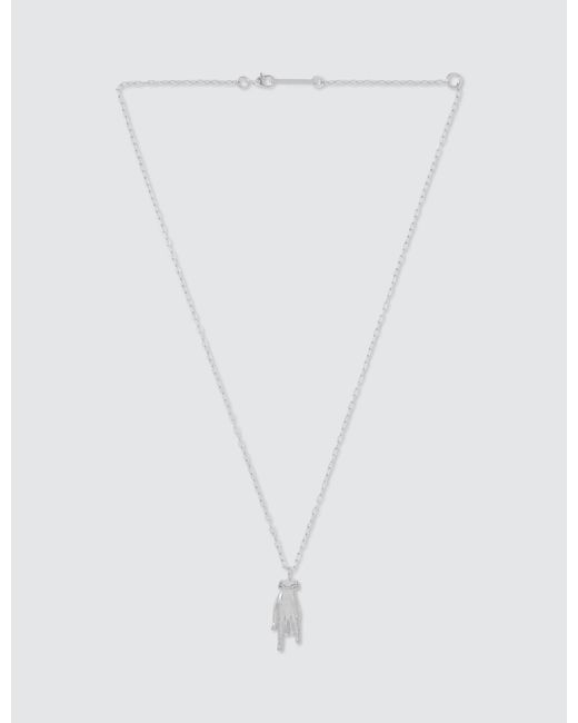 Ambush - Metallic Hand Pendant - Lyst